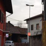 Monitoraggio edifici durante la realizzazione di un'opera fognaria con spingitubo in Foglizzo (To)