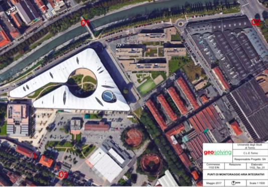 Monitoraggi ambientali presso il Campus Luigi Einaudi