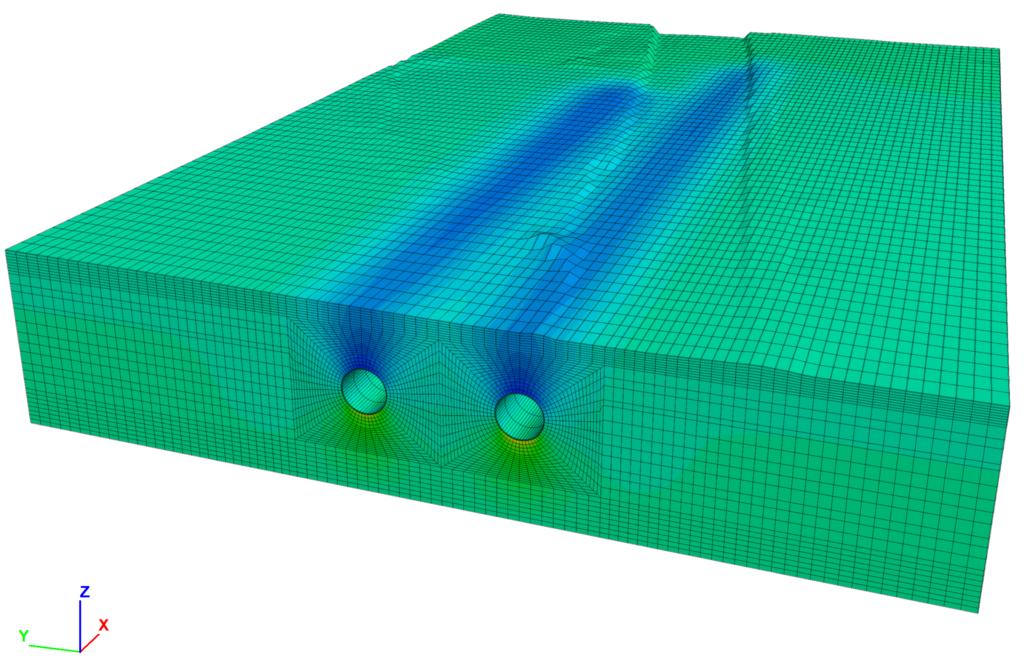 Modellazione numerica 2D e 3D di un tunnel della linea ferroviaria AV/AC Milano-Verona